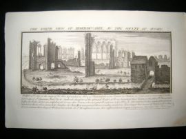 Buck C1820 Folio Architecture Print. Begeham Abbey, Sussex